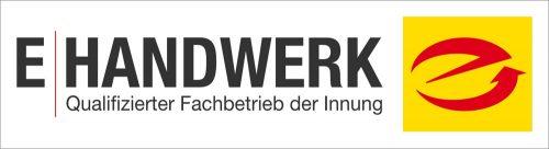 Logo E-Handwerk - Qualifizierter Fachbetrieb der Innung