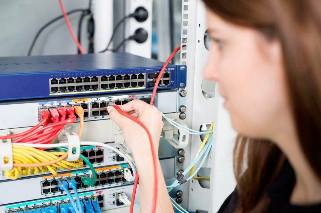 Netzwerktechnik Foto 1