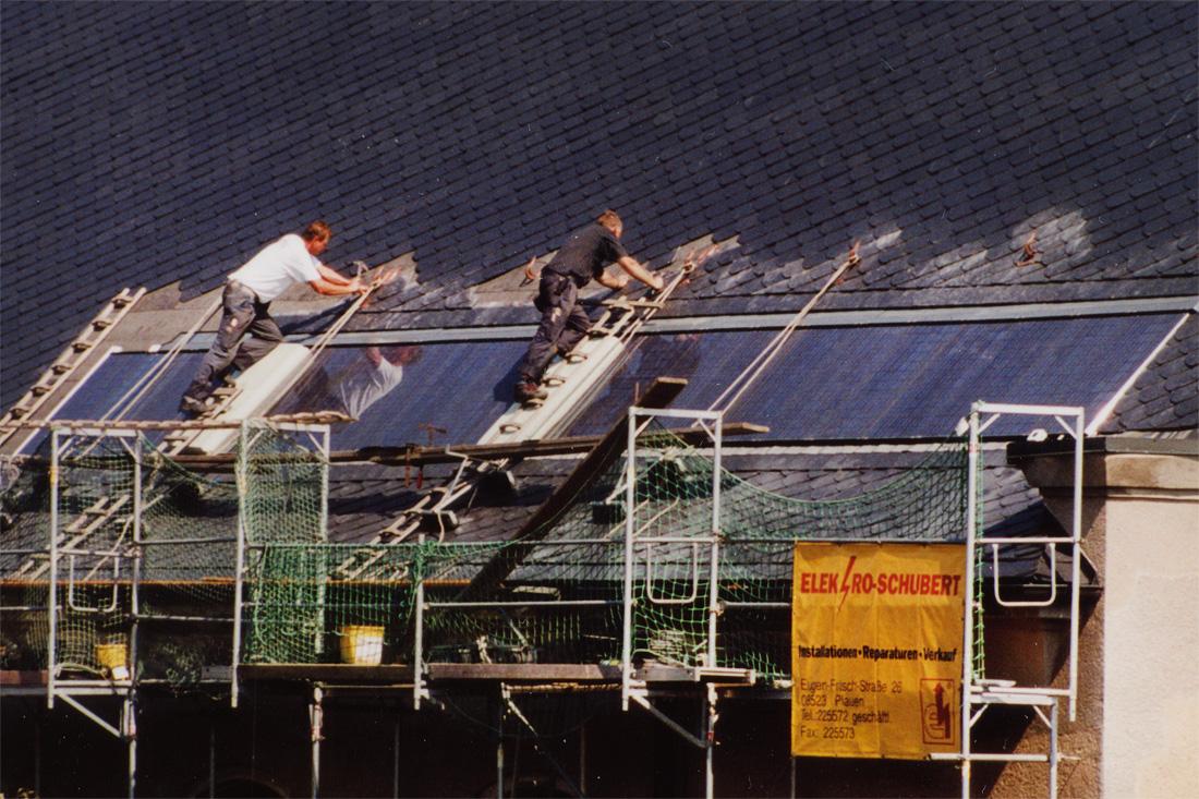 Photovoltaik Installation von Elektro-Schubert